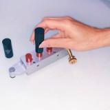 Mobile Custom Lipstick Bar hand made lipstick molding By Dawes Custom Cosmetics. Ideal for Vegas Bachelorette Parties.