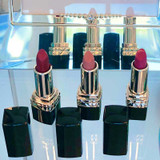 Mini Lipstick Trio. Red, Nude, pink mini lipsticks. Dawes Custom Cosmetics custom lipsticks