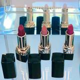 Mini Lipstick Trio. Red, Nude, pink mini lipsticks. Dawes Custom Cosmetics custom lipsticks