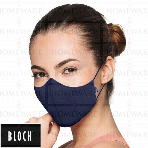 Adult B-Safe Face Mask reusable A001A Navy