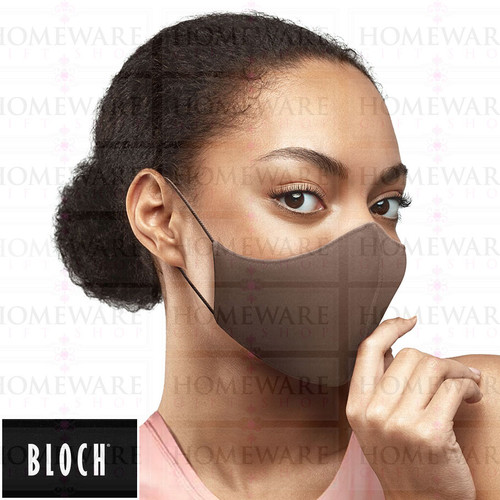 Adult B-Safe Face Mask Cocoa reusable A001A