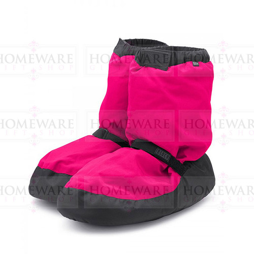 Kids Ballet Warm Up Boots Bloch Florescent Pink