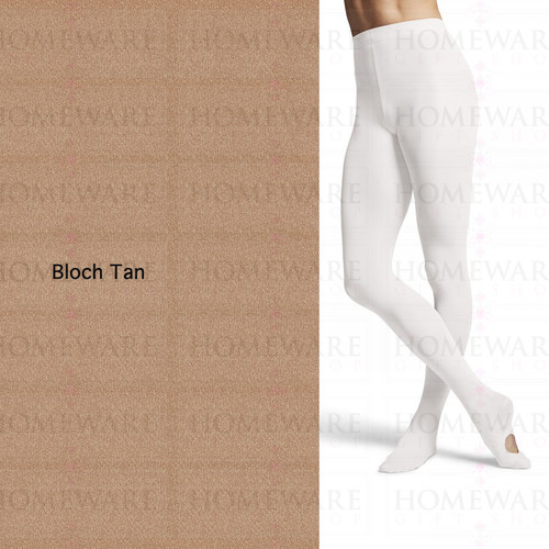 Ladies Ballet Tights Convertible BLOCH Tan