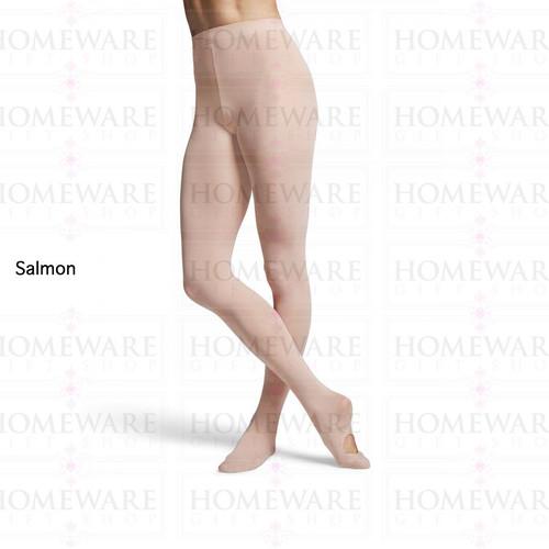 Ladies Ballet Tights Convertible Salmon BLOCH