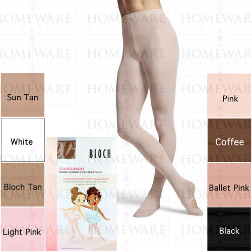 Girls Convertible Dance Tights Ultimate Comfort - Bloch - T0982G