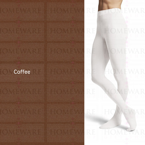 Girls Footed Dance Tights Ultimate Comfort - Coffee - T0981G