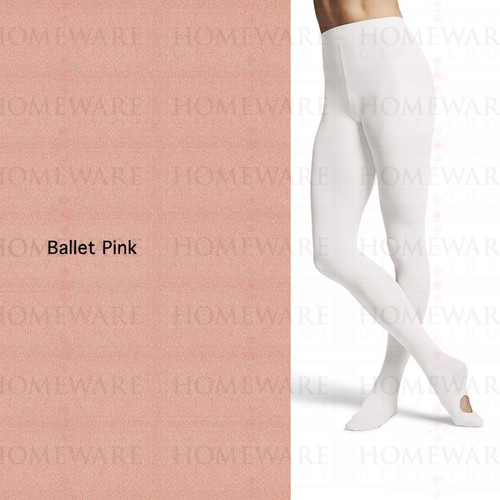 Bloch Girl's Contoursoft Children's Ballet Pink Convertible Tights - T0982G