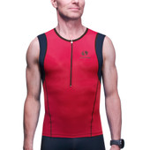 Men's Synergy Sprint Tri Tank - Red