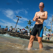 Men's Synergy Swim Jammer - Aqua