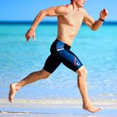 Men's Synergy Swim Jammer - Red