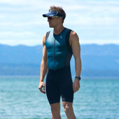 Men's Synergy Tri Suit - Charcoal