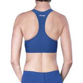 Women's Orca Race Sports Bra - Blue/White