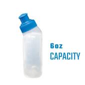 Running Bottle Blue – 6oz (4-pack)