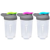 Shaker Bottle - 18oz (3-pack)