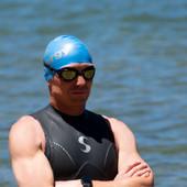 Latex Swim Cap-Multi Blue (4-pack)