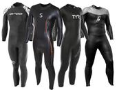 Demo Men's Fullsleeve Triathlon Wetsuit - Category B
