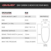 Carbon Clincher Disc