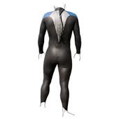 F2R Youth Hydroflex Fullsleeve Triathlon Wetsuit - Kids Size P2 - Height: 4'8-5'5 - Weight: 75-95 lbs