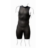 F2R Youth Aquaflex Short Triathlon Wetsuit - Kids Size P1 - Height: 4'6-5'4 - Weight: 70-80  lbs