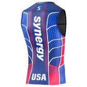 Men's Synergy Limited Edition USA Elite Singlet - Patriotic
