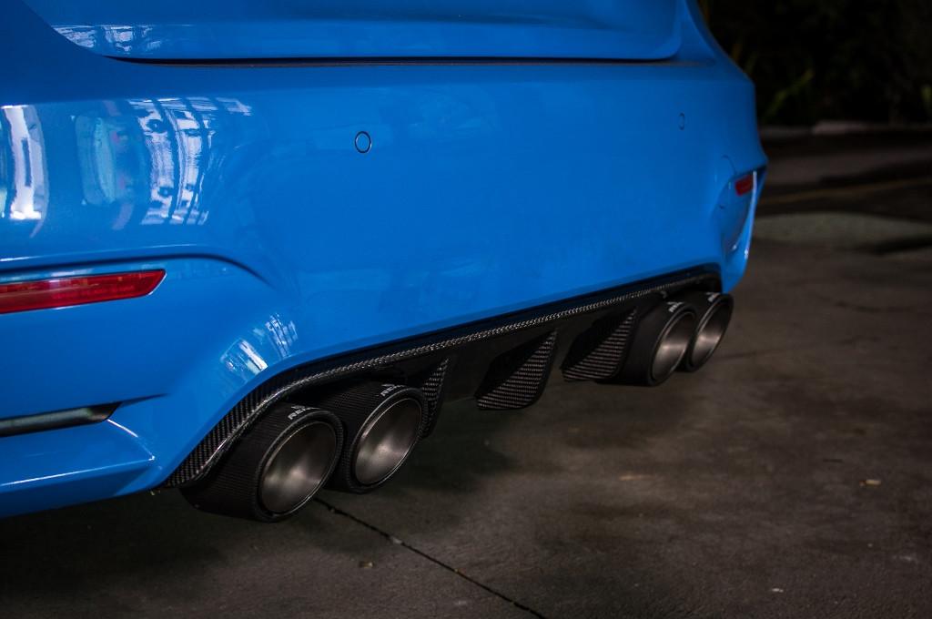 M Performance M3/M4 F80 F82 F8X Carbon Fibre Rear Diffuser