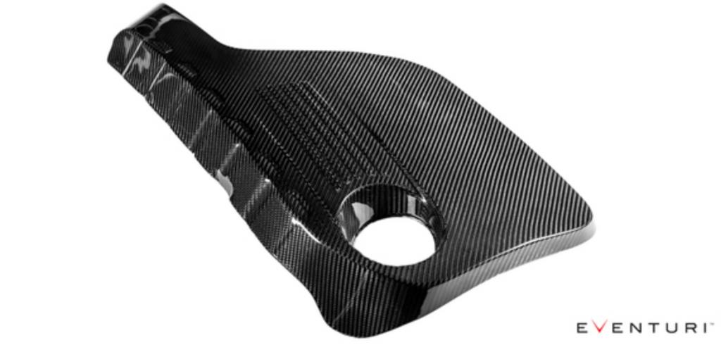 Eventuri BMW F8X M3/M4 - Black Carbon Engine Cover