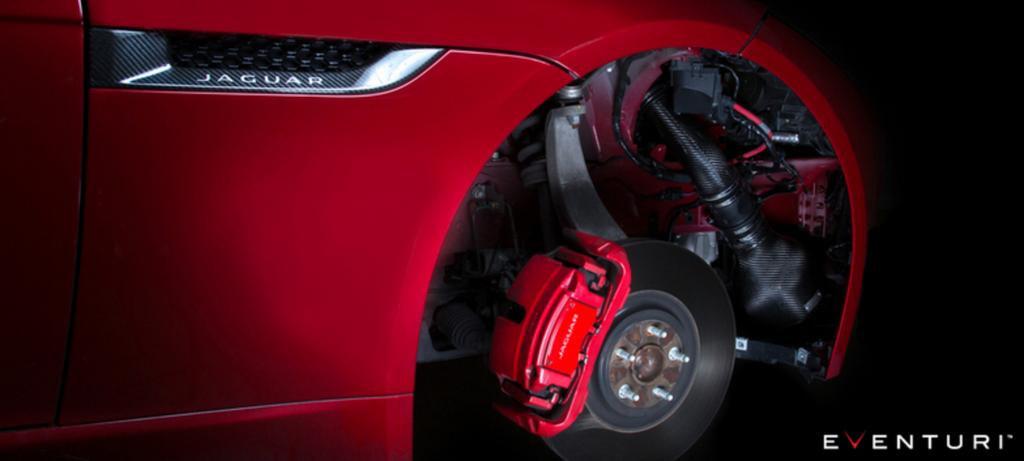 Eventuri Jaguar F Type V8 - Black Carbon Intake