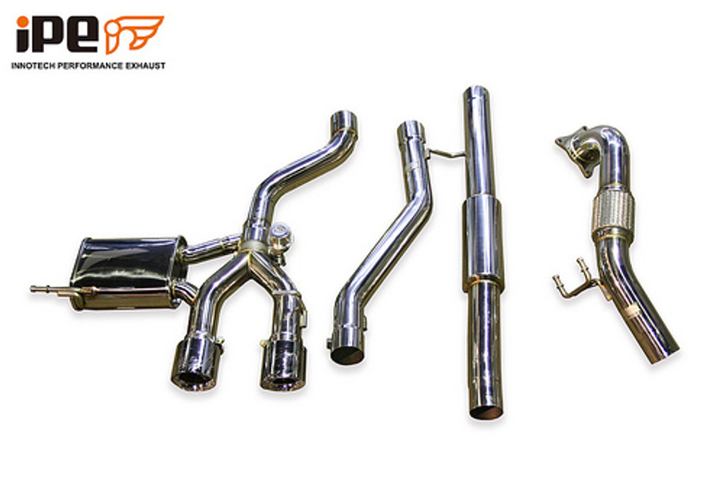 iPE turbo back exhaust for Golf R