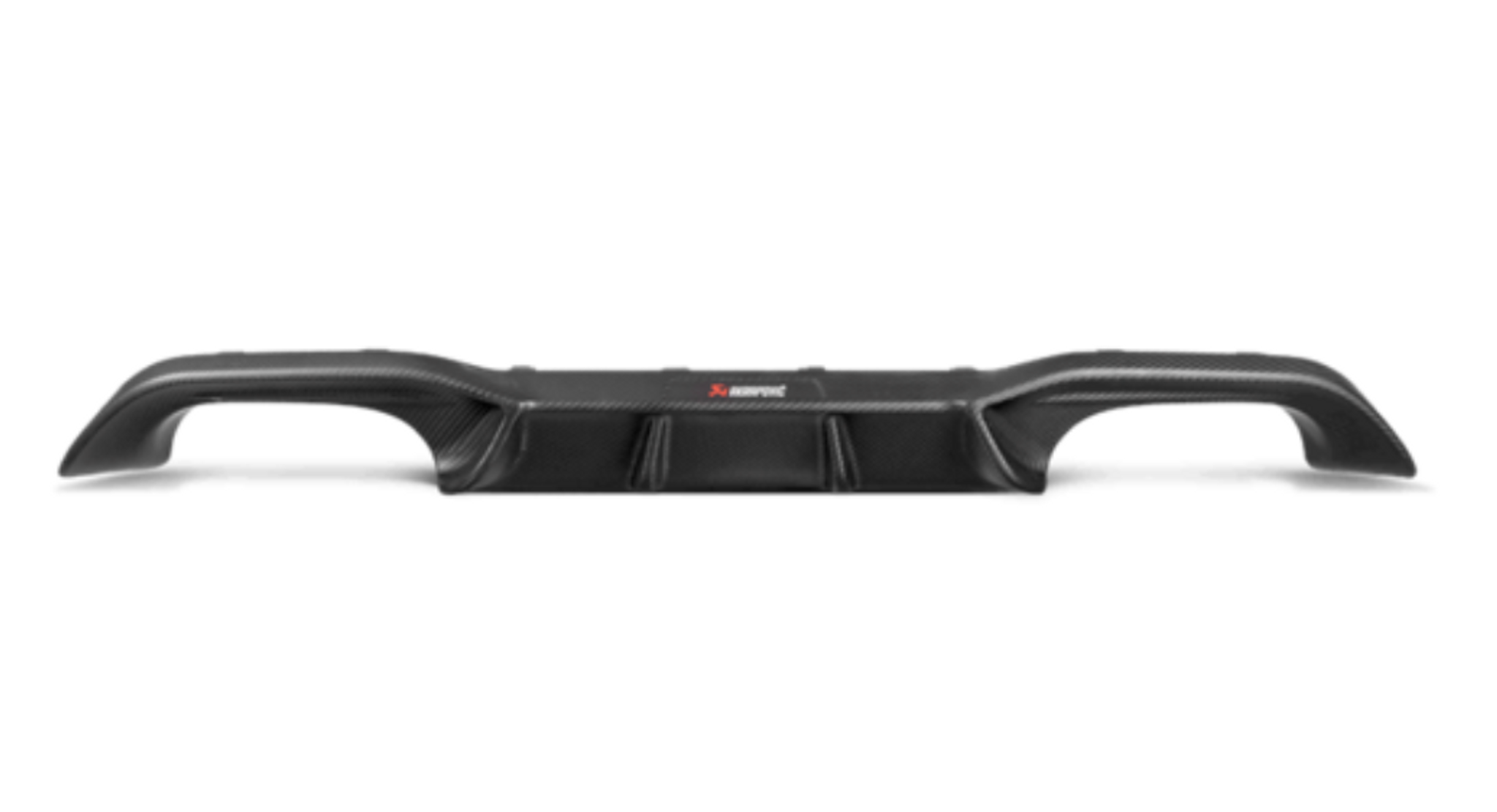 Akrapovic Rear Carbon Fibre Diffuser - Matte M2