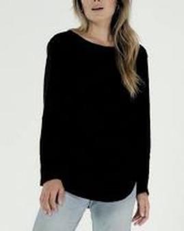 Cl'e Layla Tee Basics Black