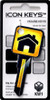 9663-Yellow Icon House Key