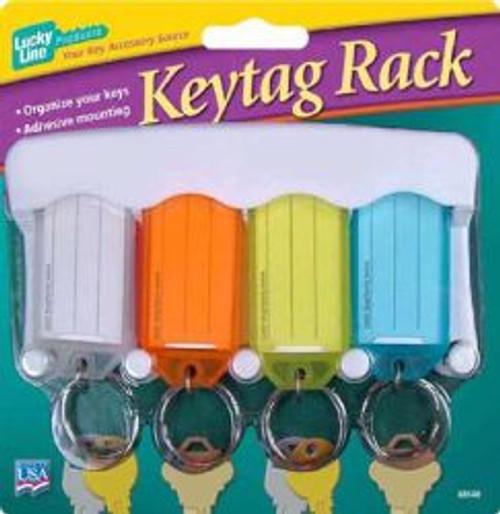 60540: 4 KEY TAG RACK,1/CD