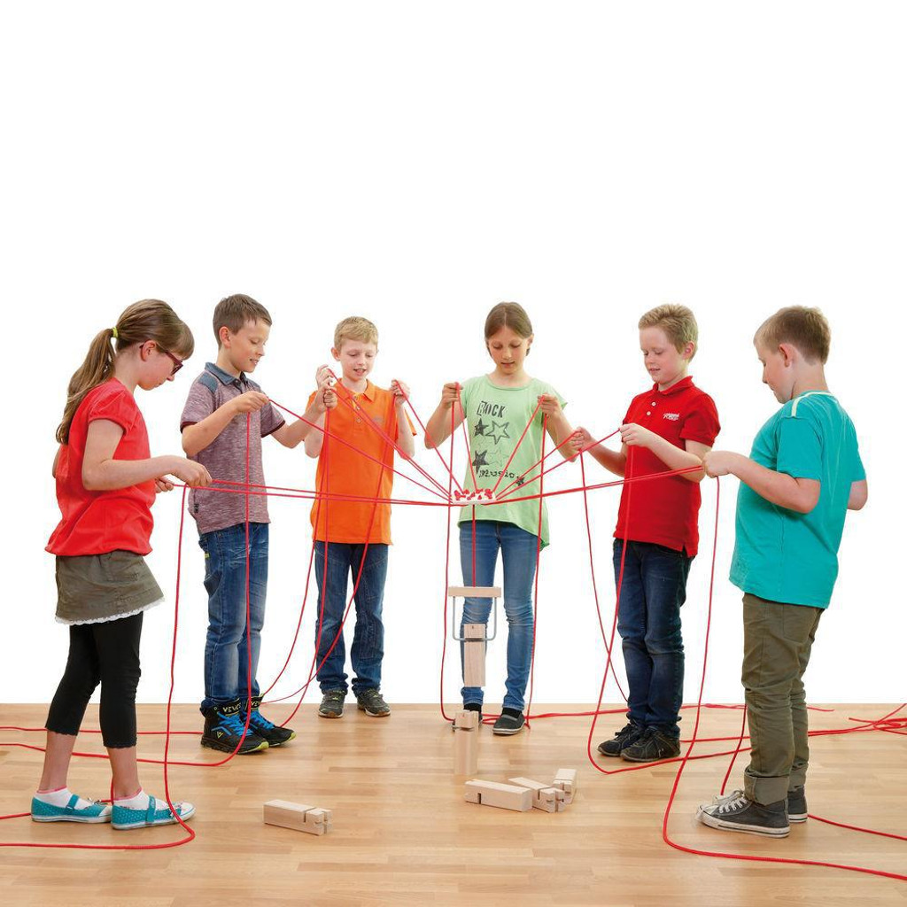 Team Tower (special order)A game of dexterity and skill to promote team spirit, fine motor skills and strategic thinking for all ages from 4 to 99.