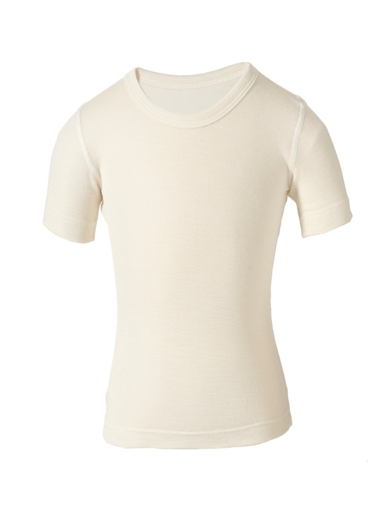 child's silkwool short-sleeved undershirt