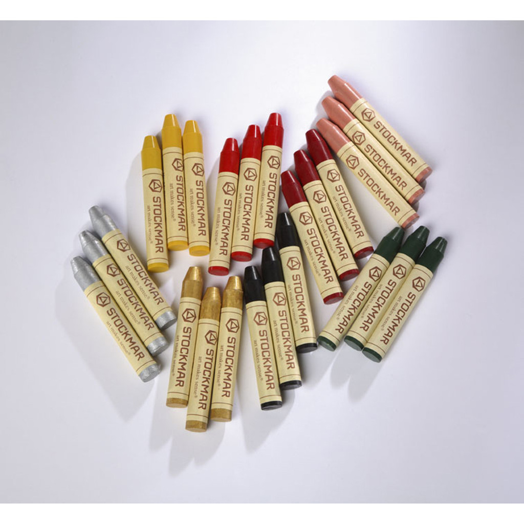 Stockmar wax stick crayons.  Waldorf beeswax crayons.  Supplementary colours.