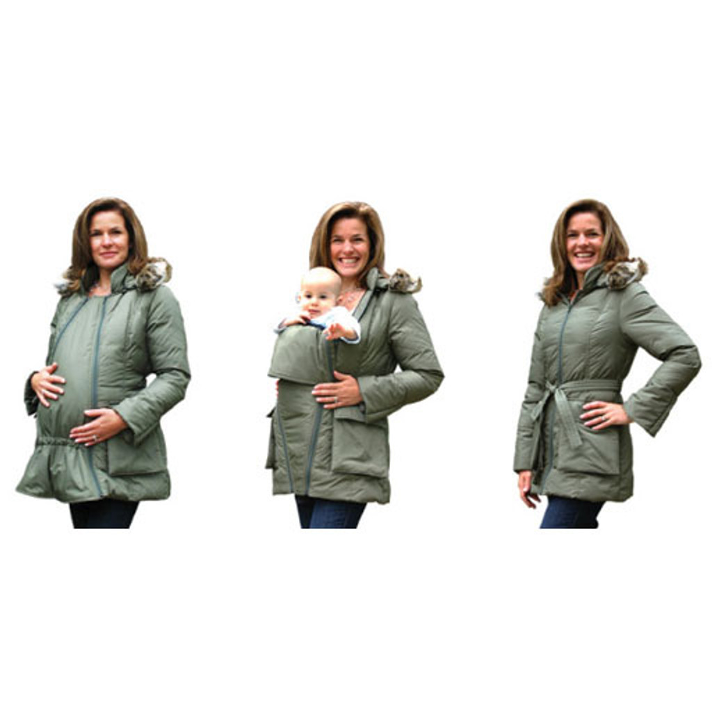 the m-coat maternity jacket