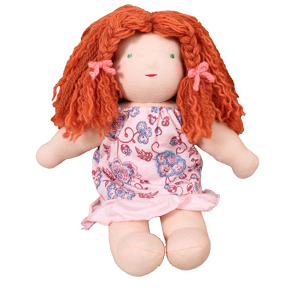 girl waldorf doll