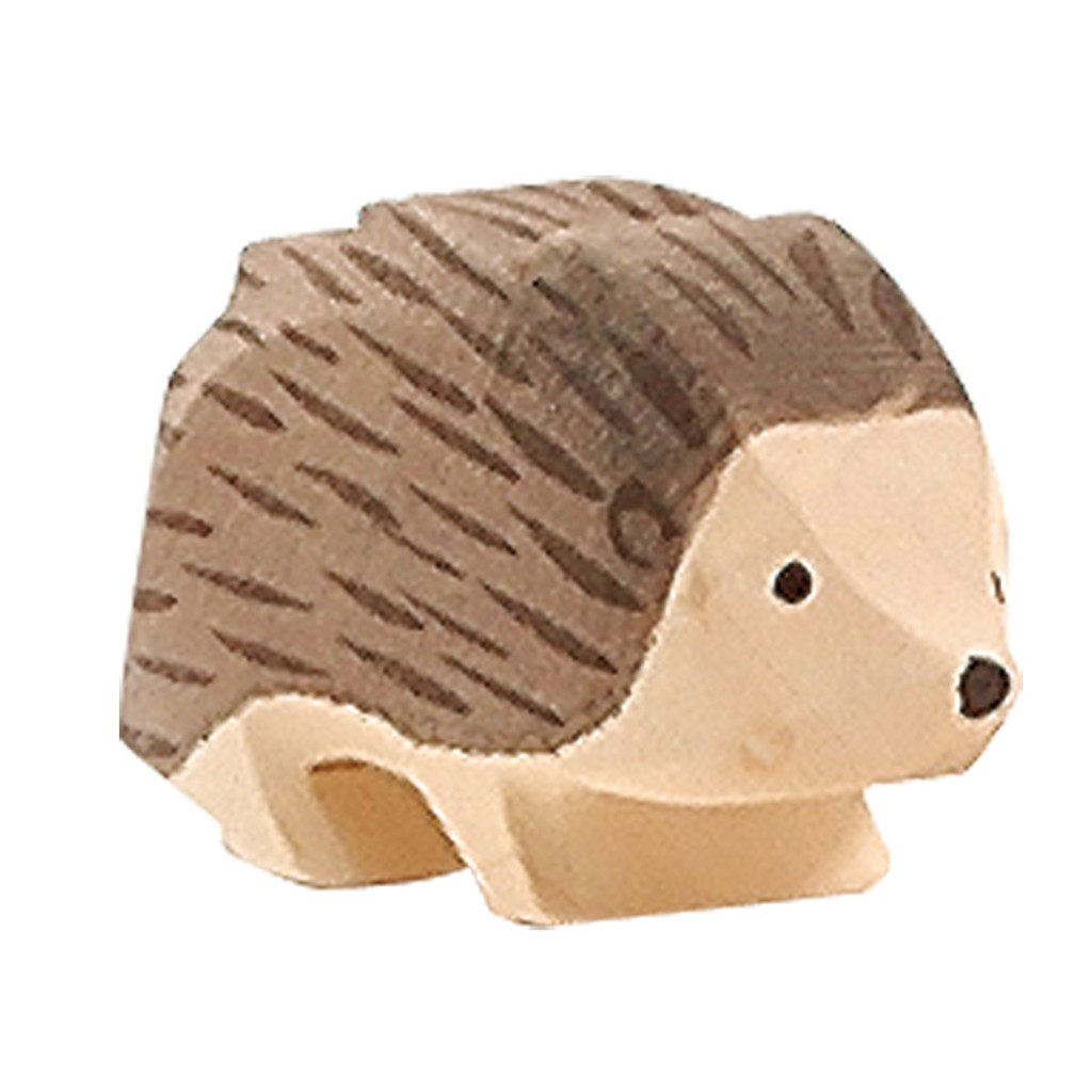 Ostheimer hedgehog, 4 cm high.  Made in Germany.