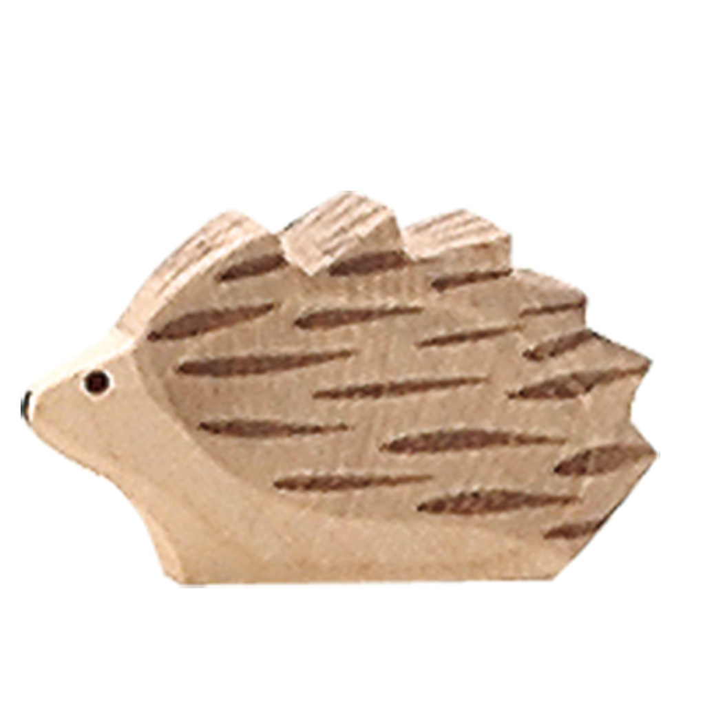 Ostheimer hedgehog, small.  2cm high.  Made in Germany.