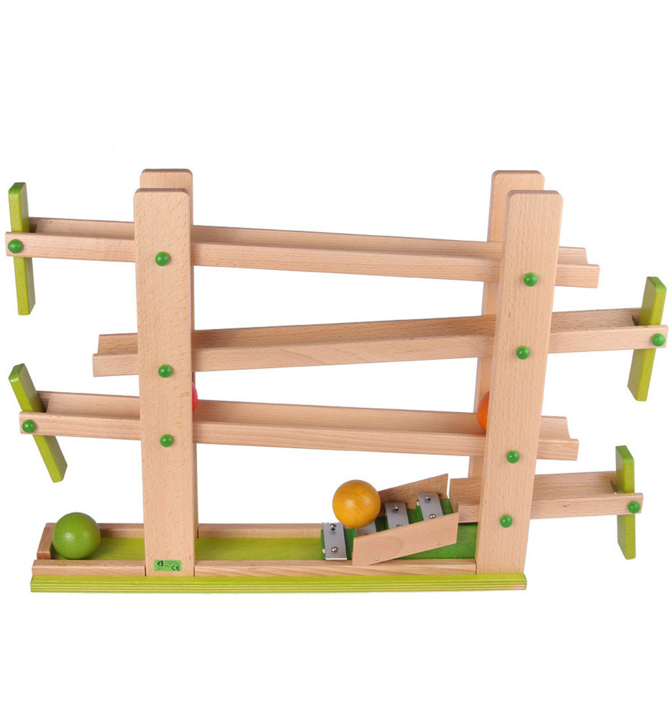 flap ball track with chimes