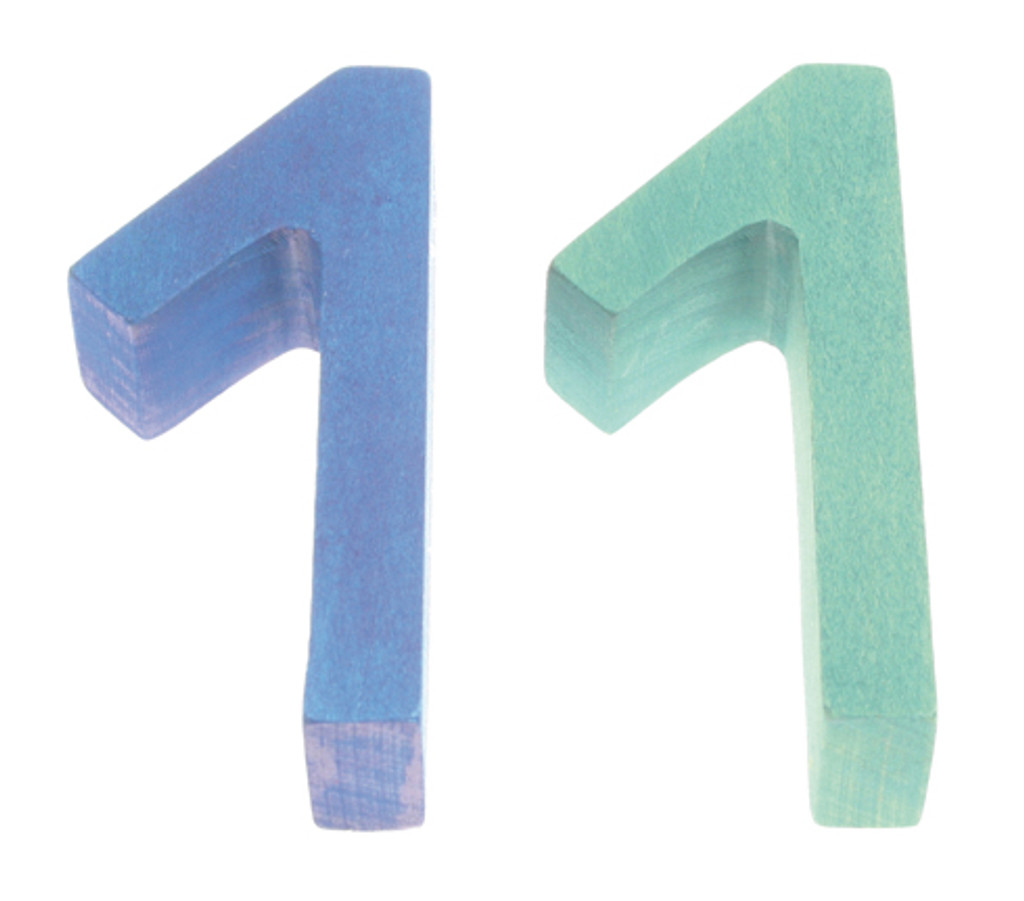 Numbers Building Set with timer