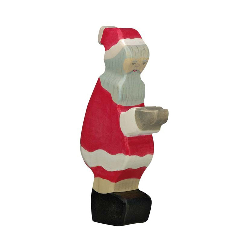 Holztiger Father Christmas.  Made in Europe.