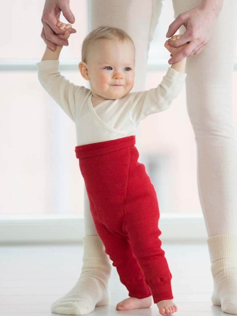 organic merino nappy pant, coloured (special order)