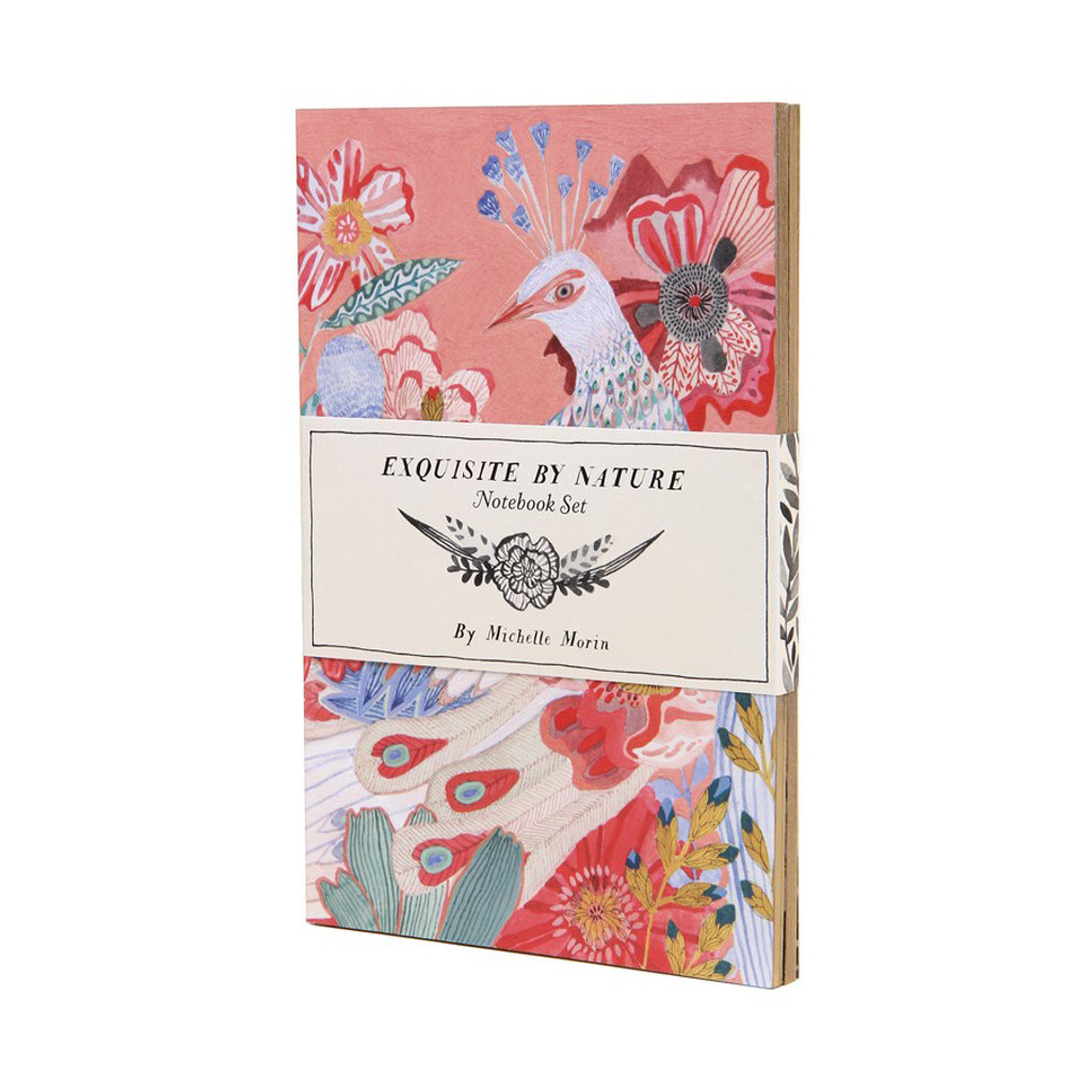 Exquisite by Nature notebook set