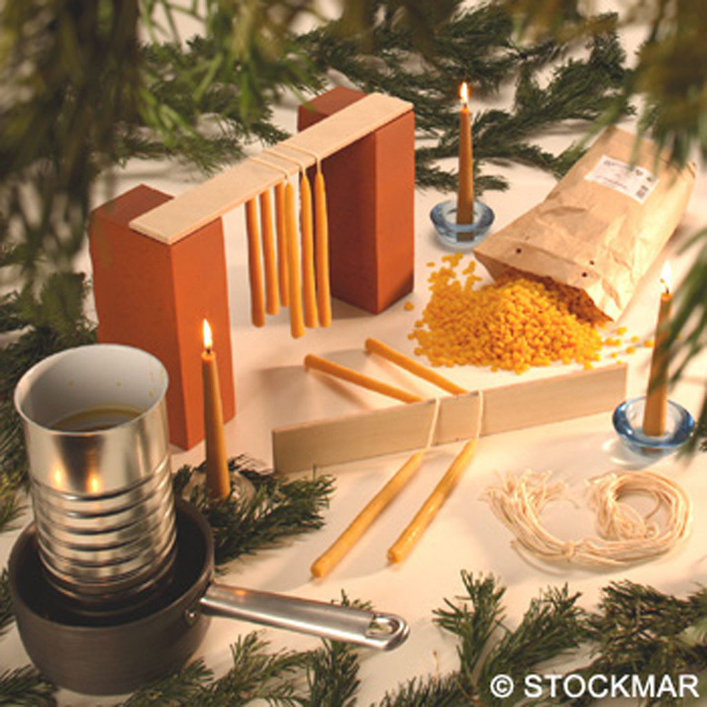 Stockmar beeswax candlemaking set