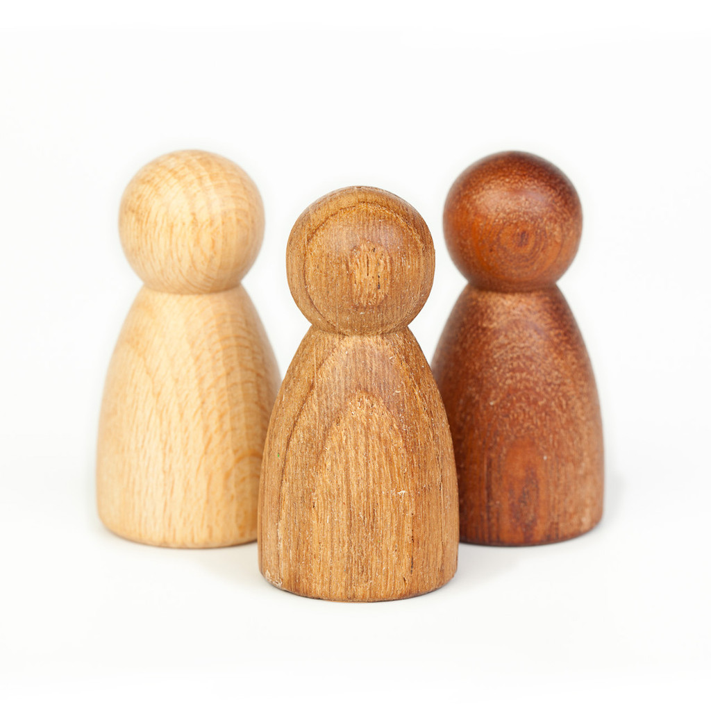 Grapat 3 Nins of Wood, Beech, Oak & Sapeli