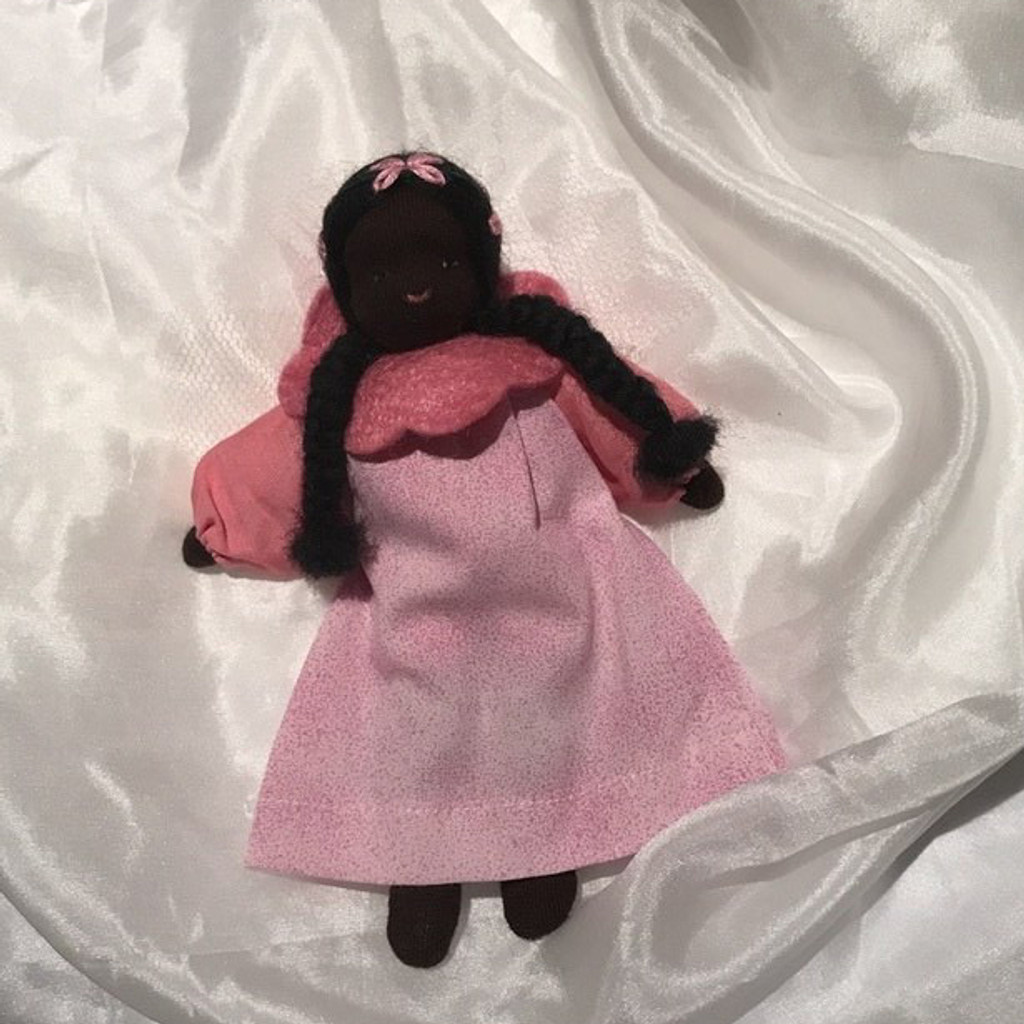 little rose fairy, dark skin tone