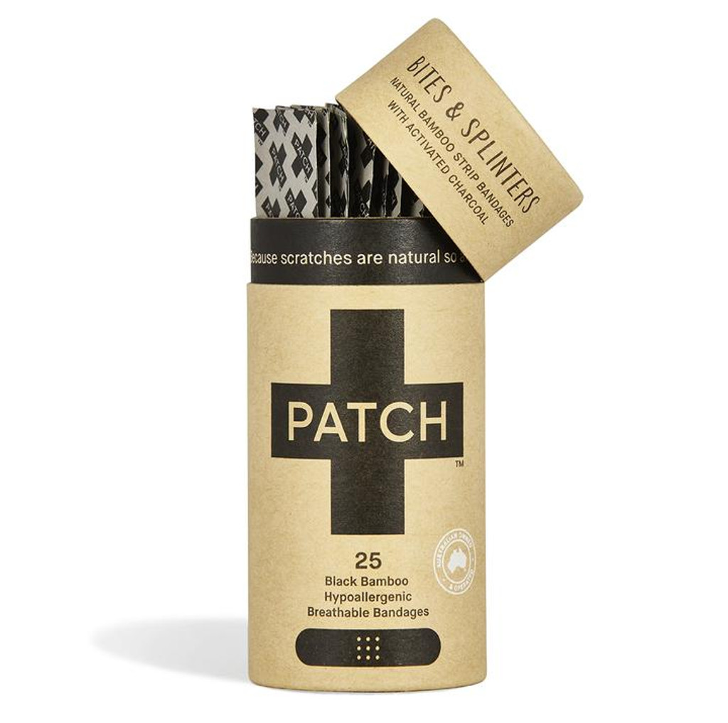 Patch Activated Charcoal biodegradable adhesive bandages