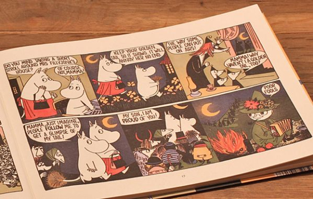 Moomin and the Golden Tail comic book