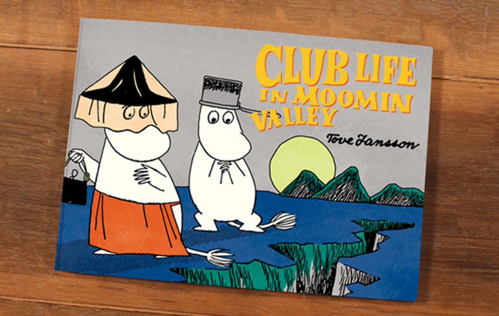 Club Life in Moomin Valley comic book